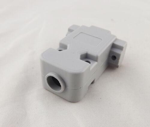 1pcs DB15 VGA Female 15Pin 3 Rows D-Sub Connector Plastic Hood Cover Backshell