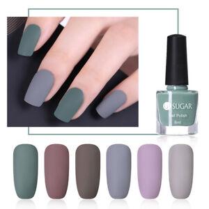 UR SUGAR Matte Nail Polish Pure Tips Nails Varnish Matte Series ...