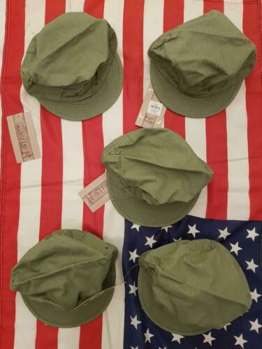 US ARMY CASQUETTE HBT REPRO NEUF WW2 TAILLE L