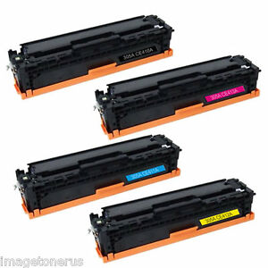 4 Pack Toner Set For Hp Laserjet Pro 400 Color M451dn
