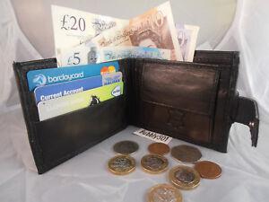 Kleidung & Accessoires 90307 Gents Mens Sheep Nappa Leather Wallet Note Case Purse Credit Cards Holder Ein Unverzichtbares SouveräNes Heilmittel FüR Zuhause Geldbörsen & Etuis