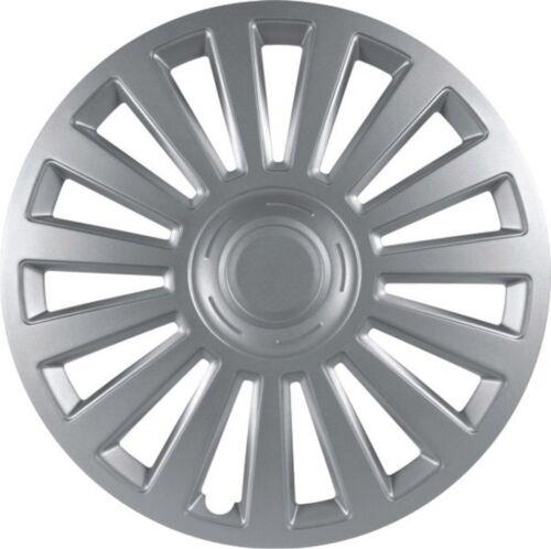 Universal Radkappen Radzierblenden LUXURY silber 14 Zoll für VW Modelle
