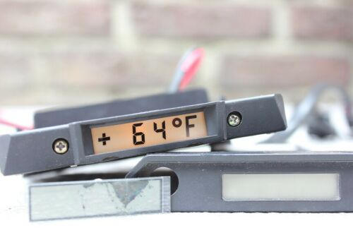 MERCEDES E-KLASSE W124 AUßENTEMPERATURANZEIGE LCD REPARATUR DISPLAY C //ATA TACHO