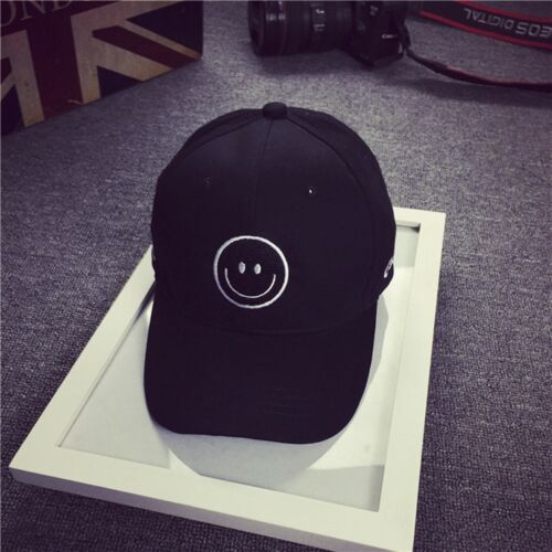 Hip Hop Embroidery Baseball Cap Cotton Snapback Flat Hat Black Pink Guys IC1
