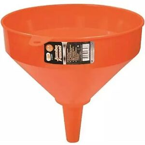 10-034-JUMBO-PLASTIC-FUNNEL-TOOL-Kitchen-Garage-Garden-Engine-Large-Heavy-Duty