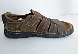 2f4d391dc4fb NEVADOS Mens Brown Open Toe Strappy Fisherman Sport Sandals Shoes sz ...