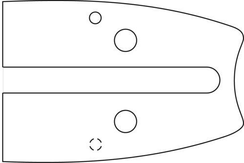 """6000 /> 6800 7300 /> 7910 Schwert 45cm 3 Ketten 3//8/"""" P Dolmar Kettensäge PS 63"""