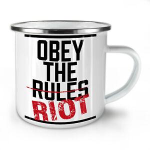 Slogan Stylish NEW Enamel Tea Mug 10 oz   Wellcoda