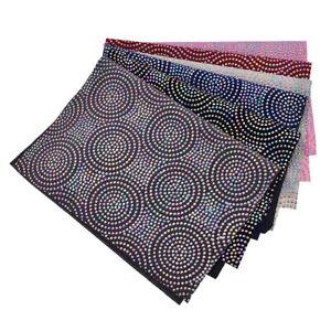 A4-Size-Circle-Dots-Polyester-Sewing-Fabric-Sheet-Hair-Bow-DIY-Garment-Crafts