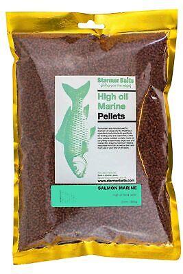 Olio Di Salmone Marine Alta Mangime Pellet Per Pesca Carpa E Grossa, 2mm-