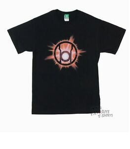 Details about Green Lantern Red Lantern Corps Red Glow DC Comics Licensed Adult T Shirt