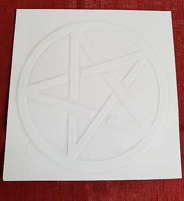 Autoaufkleber Pentakel Pentagramm Drudenfuß Hexe Wicca Pagan Zahlreich In Vielfalt