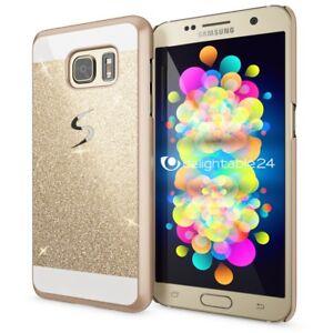 Samsung-Galaxy-S7-Huelle-Handyhuelle-von-NALIA-Glitzer-Hard-Case-Cover-Schutzhuelle