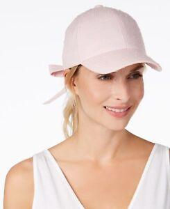 59df3df367b Inc Baseball Cap Blush Pink NWT  25 Bow-Back Tie Adjustable Cotton ...