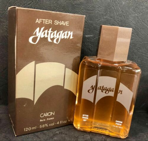 Vintage After Shave YATAGAN by CARON, Old Formula, 120ml,Paris, Unused NOS RARE!  8RjWW ZAJBC