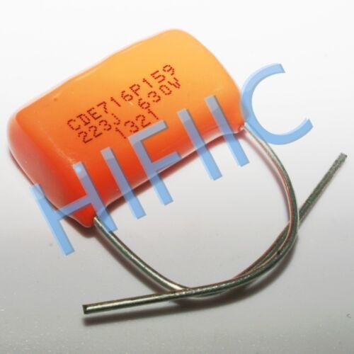 2PCS Sprague CDE 716P 0.022UF 630V 223J capacitor