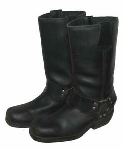 WOW-034-AKITO-034-Western-Stiefel-Lederstiefel-Biker-Boots-schwarz-Gr-40