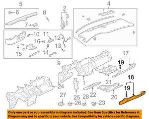 image is loading cadillac-gm-oem-2005-deville-instrument-panel-dash-
