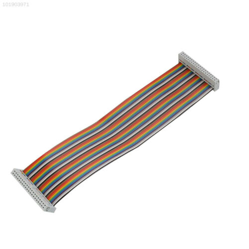 40 Pin Way GPIO Rainbow Ribbon Cable Wire IDC 22cm For Raspberry Pi 2 3 5188