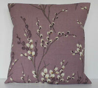 "Laura Ashley Pussy Willow Grape Purple 16"" Cushion Cover"