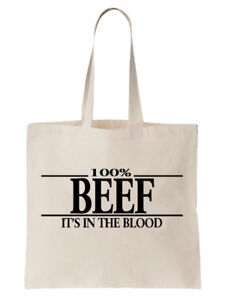 Beef-Tote-Shoulder-Bag-Statement-Shopper-Birthday-Gift-Funny-Cool-Weightlifting