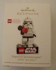 Hallmark 2012 Lego Star Wars Imperial Stormtrooper Empire Christmas Ornament