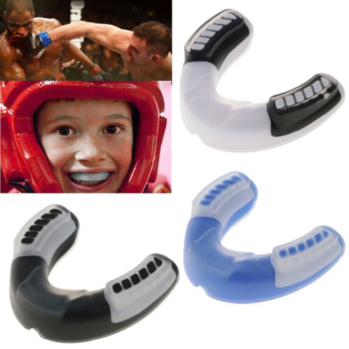 Basketball Rugby Football Mouth Teeth Guard Protector Protective Mouthpiece