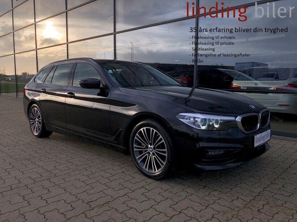 BMW 525d 2,0 Touring Sport Line aut. 5d