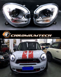 Mini Cooper R60 Countryman R61 Paceman F60 Look Headlights Led Drl