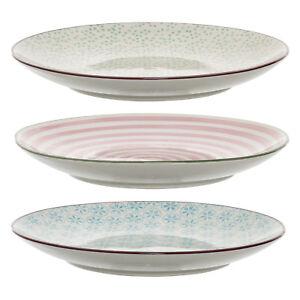 Teller Frühstücksteller 'Patrizia' Ø 20 cm Keramik handbemalt von Bloomingville