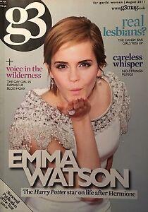 Lesbian emma watson Emma Watson: