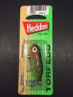 Heddon Tiny Torpedo 1 7/8 1/4oz Perch X0360l