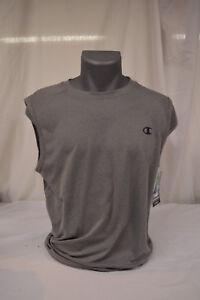 a265b76d0c83e NEW Champion Mens Vapor Muscle SLEVELESS T-Shirt athletic sport MED ...