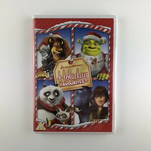 Dreamworks-Holiday-Favourites-DVD-2013-New-amp-Sealed