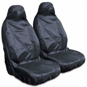 Black Heavy Duty Driver Seat Cover For AUDI A5 COUPE