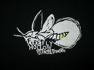 FIREFLY-HOLLOW-BREWING-COMPANY-T-SHIRT-Bristol-Connecticut-Get-Lit-Craft-Beer-MD