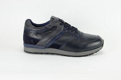 sneakers uomo Harmont & blaine CAMOSCIO NAVY PELLE E9095 576 | eBay