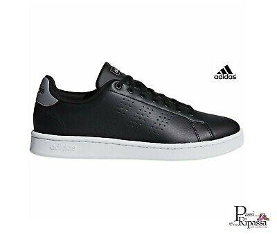 Scarpe da uomo Adidas nere ADVANTAGE invernali ginnastica sportive sneakers | eBay