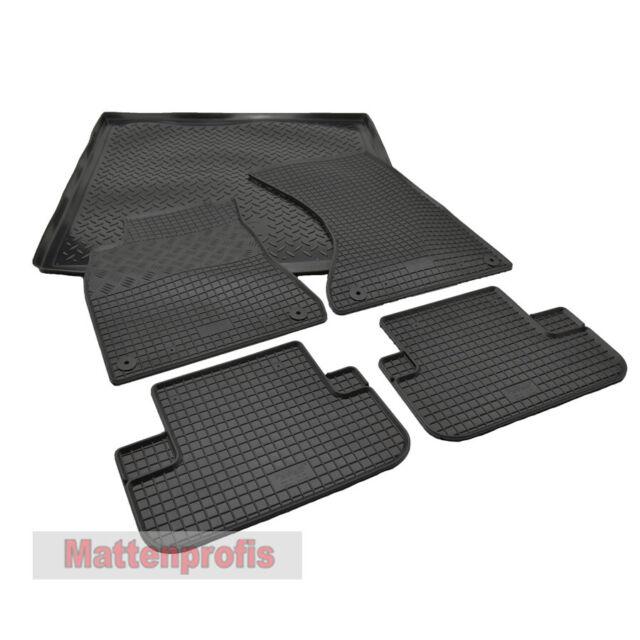 WOW Original Audi Gummi Fußmatten Set vorn schwarz Audi A3 ab 2013 8V