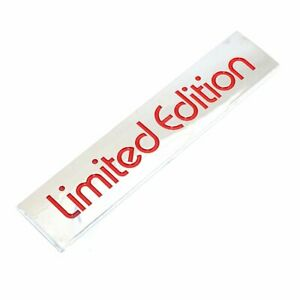 3D-Red-Limited-Edition-Logo-Emblem-Badge-Metal-Sticker-Decal-Car-Accessories-uk