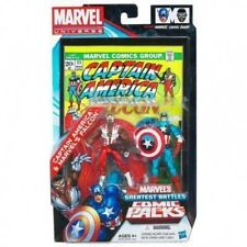 marvel universe greatest battles Captain America & Marvel's Falcon Comic 2-Pack