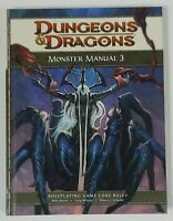 D&D 4th Edition Monster Manual 3 NEW Roleplaying d20 Three Core Dragons 4.0