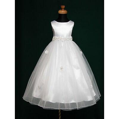 New Angela Flowergirl Flower Girl 1st Communion Bridesmaid Wedding Dress 2-13Yrs