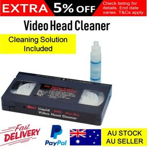 Video-Head-Cleaner-VCR-VHS-Cassette-Cleaning-Solution-Kit-Tape-Path-Cleaner
