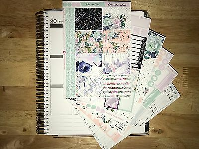 Blossom Vertical Weekly Kit Planner Stickers Erin Condren LifePlanners