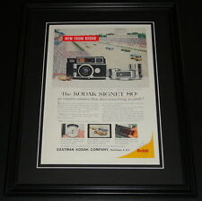 1959 Kodak Signet 80 11x14 Framed ORIGINAL Vintage Advertisement B