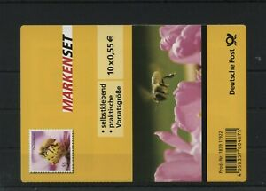 Germany-BRD-Federal-Stamp-Booklet-MH-89-Postmarked-Used-More-See-Shop