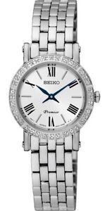 Seiko SWR023 Ladies 36 x Diamond Watch Brand New RRP $925.00
