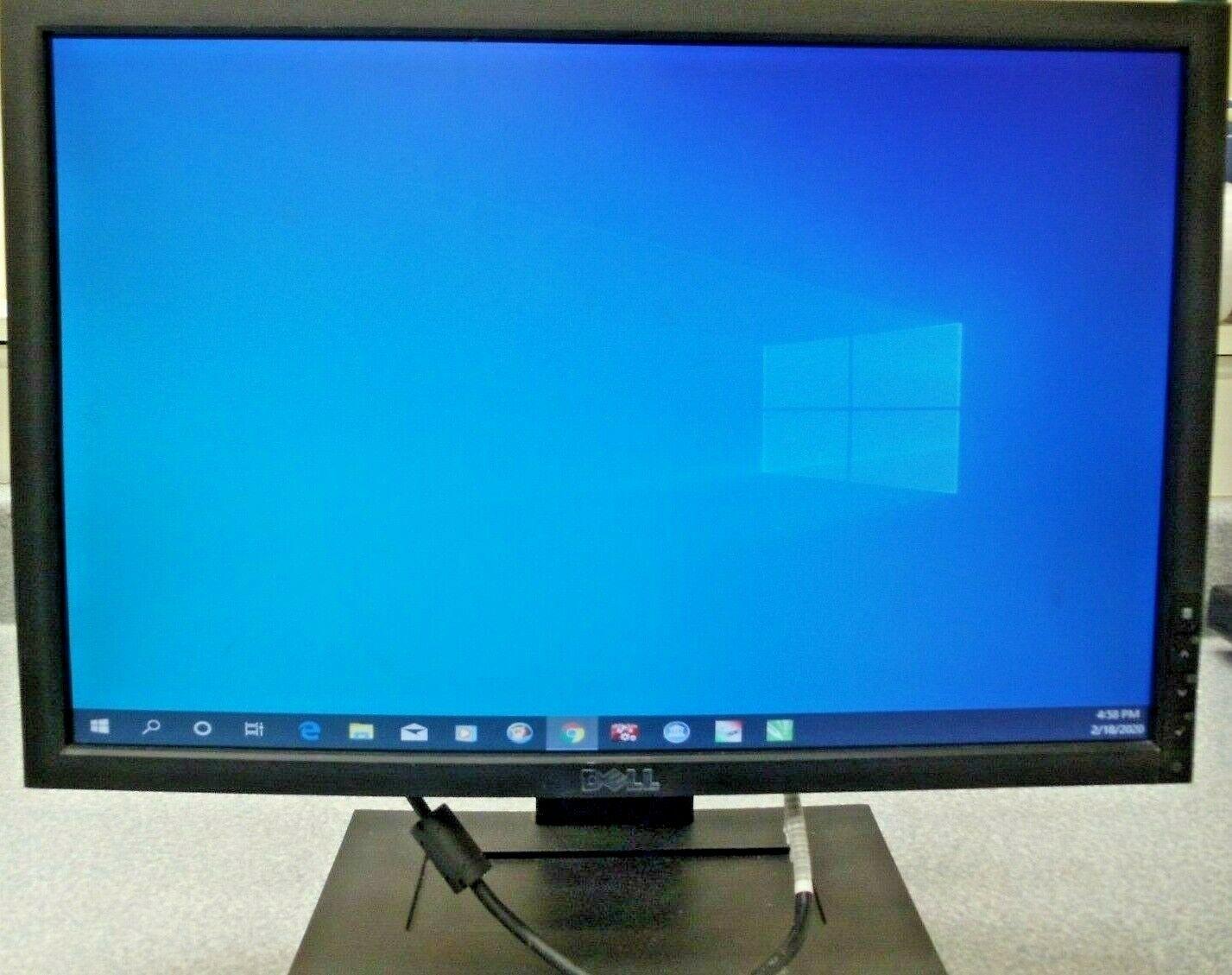 """W//VGA /& POWER CORD Dell E1909W E1909Wb 19/"""" LCD Monitor Grade B+"""