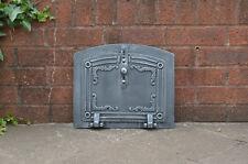 37 x 31 cm cast iron fire door clay / bread oven doors pizza stove fireplace